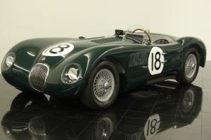 Jaguar : Other C-Type Alloy Body Replica Photo