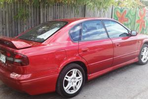 Subaru Liberty RX 2000 4D Sedan 5 SP Manual 2 5L Multi Point F INJ in Annerley, QLD