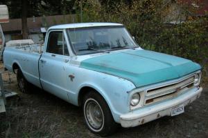 Chevrolet : C-10 blue