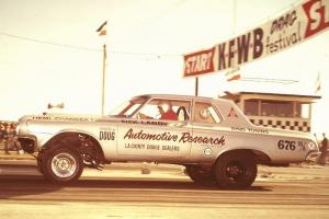 1st PRODUCTION HEMI TO WIN AN EVENT! (think about that)