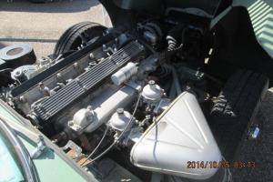 Jaguar : E-Type green