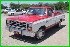 Dodge : Ram 1500 Low Original Mileage Red Classic Dodge Truck