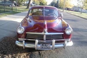 1948 Hudson Commodore, restored.