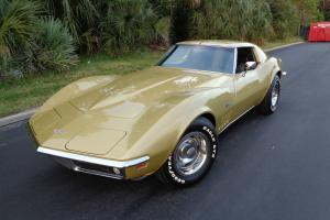 Chevrolet : Corvette Black vinyl