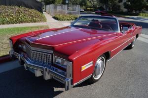 Cadillac : Eldorado CONVERTIBLE WITH 12K ORIGINAL MILES!
