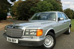 1983 Mercedes-Benz 500SE W126 Automatic - 52,000 MILES FROM NEW - IMMACULATE