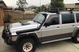 Maverick 4x4 1993 Nissan Patrol Manual 4 2L Carb Intercooled Turbo Dual Fuel in Bairnsdale, VIC Photo