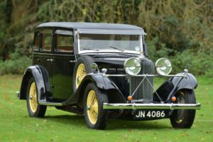 1934 Talbot AX 65 Six Light Saloon.