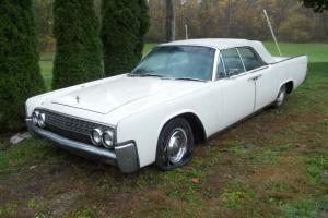 Lincoln : Continental leather
