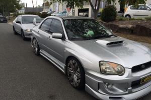 Subaru Impreza WRX AWD 2003 5D Hatchback 5 SP Manual 2L Turbo Mpfi 5