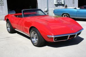 Chevrolet : Corvette Convertible 454CI Motor