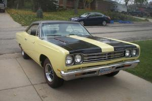 Plymouth : Road Runner VINYLE TOP AND TRIM TAG