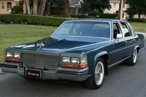 Cadillac : Fleetwood BROUGHAM D'ELEGANCE -MINT- 78K MI