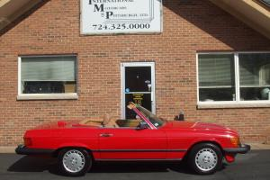Mercedes-Benz : SL-Class 560SL Photo