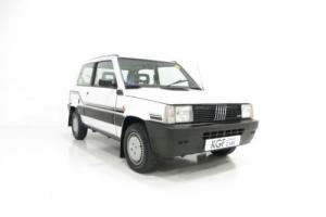 A Formidable Fiat Panda 1000 Super with an Astonishing 8,405 Miles from New. Photo