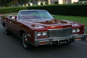 Cadillac : Eldorado CONVERTIBLE - ORIGINAL - 19K MILES
