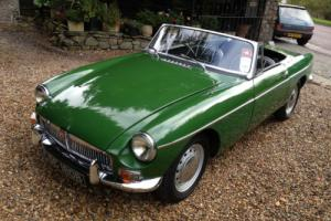 1964 B MG B MGB 1.8 Roadster MK-1 Sports Convertible Manual/Overdrive