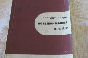 Mitsubishi Colt 1100F Workshop Manual