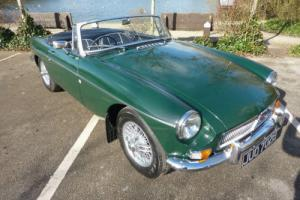 MGB ROADSTER 1967 BRG EXTENSIVE RESTORATION COMPLETED FEBRUARY 2014 STUNNING