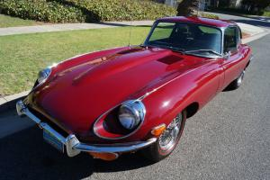 Jaguar : E-Type XKE 4.2L 4 SPD 6 CYL MATCHING #'S 2+2 COUPE