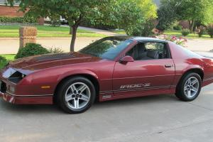 Chevrolet : Camaro Iroc-Z