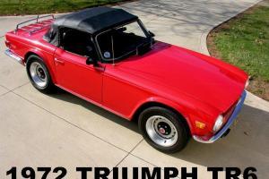 Triumph : TR-6 2-Door Convertible Photo