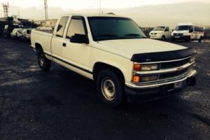 Chevrolet 2500 silverado v8 diesel pickup 1995