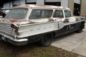 Pontiac : Bonneville station wagon