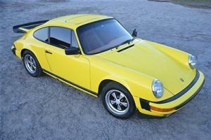 Porsche : 911 911 S Sunroof Coupe