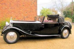 1929 Rolls Royce Phantom II Sedenca De Ville