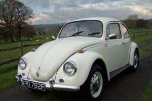 1968 Volkswagen Beetle 1200,Lovely original car,63000 miles,new MOT. Photo