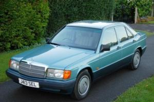 1992 Mercedes-Benz 190E Saloon Photo