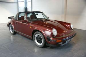 1983 Porsche 911 Targa 3.2 Carrera immaculately presented in rare Rubinrot Ruby Photo