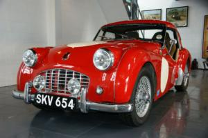 1956 Triumph TR3 RHD FIVA / MSA Papers