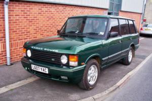 1994 Range Rover 4.2 LSE 116K Miles Soft Dash - Aston Martin Green Photo
