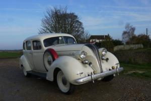 HUDSON CUSTOM SIX TOURING SEDAN 1937 RARE!!! ONLY ONE IN THE UK...