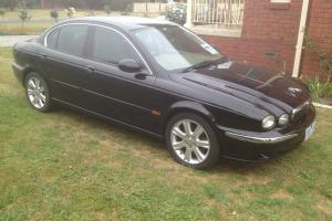 Jaguar X Type LS 2004 4D Sedan 5 SP Automatic 2 5L Multi Point F INJ 5 in Bannockburn, VIC