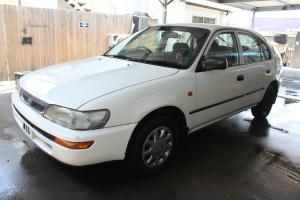 Toyota Corolla CSI Seca 1997 5D Liftback 5 SP Manual 1 6L Electronic F INJ in Little Mountain, QLD
