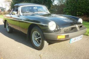 MGB ROADSTER - BLACK WITH BLACK LEATHER - EXCELLENT CAR !!
