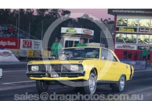 VG Valiant Hardtop Coupe Supercharged 6 71 10SEC Street AN Strip Show CAR Photo