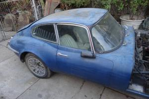 Jaguar : E-Type 2 door