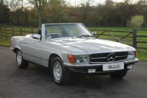 Mercedes-Benz 380 SL | Just 9000 Miles from new | LHD | Euro Bumpers and Lamps