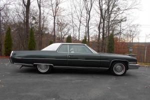 Cadillac : DeVille leather