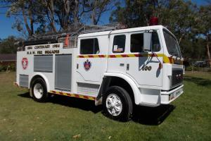 """1984 """"THE White Knight"""" Fire Engine"""