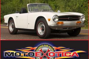 Triumph : TR-6 TR6 Photo