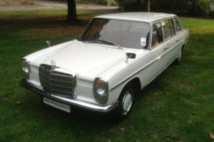 Mercedes-Benz W115 220 Diesel Auto LWB 8 Seater. Photo