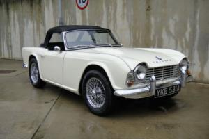 Triumph TR4-1963-OEW-Lovely condition