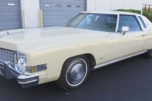 Cadillac : Eldorado 2 Door Coupe