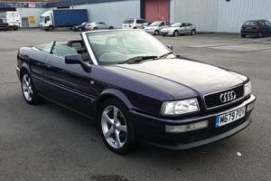 1995 AUDI CABRIOLET 2.6 E 2D AUTO 148 BHP