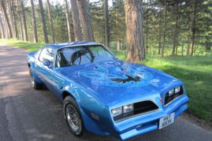 1978 PONTIAC FIREBIRD TRANS AM 400 6.6 AUTO (blue)